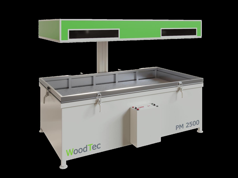 Фото: Пресс мембранно-вакуумный WoodTec PM 2500