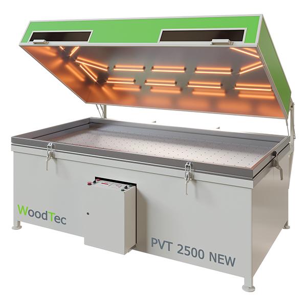 Фото: Пресс мембранно-вакуумный WoodTec PVT 2500 NEW