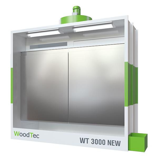 Фото: Окрасочная камера WoodTec WT 3000 NEW
