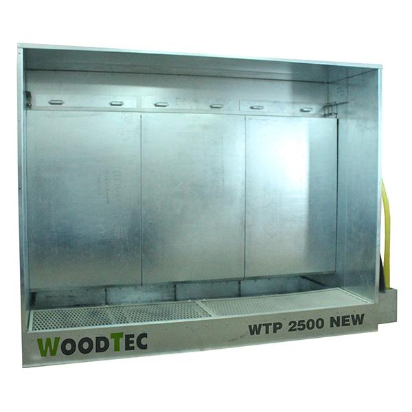 Фото: Окрасочная камера WoodTec WTP 2500 NEW с активным водяным полом