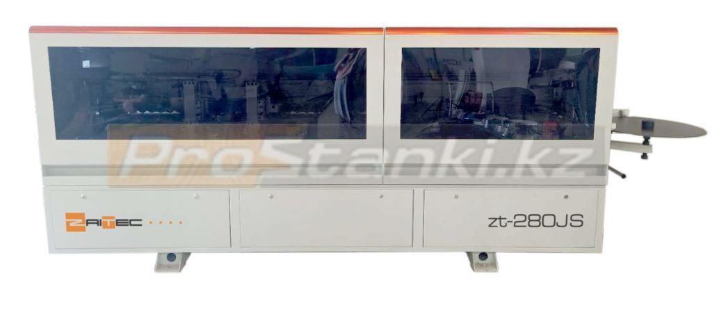 Фото: Кромкооблицовочный станок ZaiTec zt-280JS с прифуговкой
