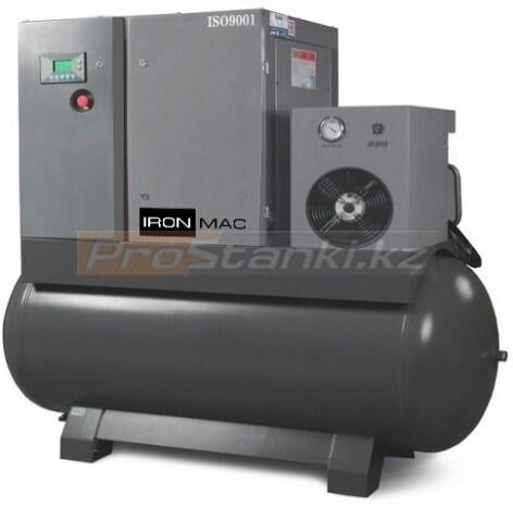 Фото: Винтовые компрессоры блочного типа IRONMAC