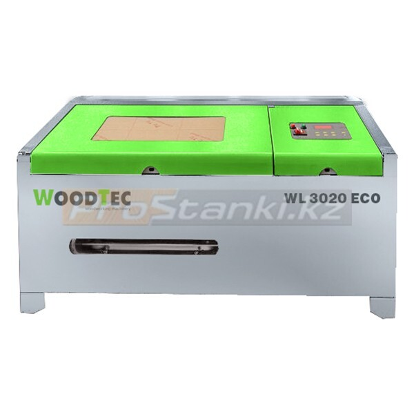 Фото: Лазерно-гравировальный станок с ЧПУ WoodTec WL 3020 M2 40W ECO