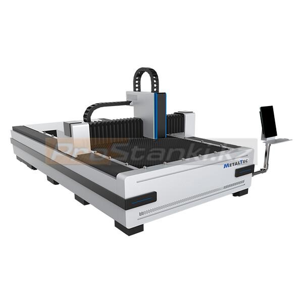Фото: Оптоволоконный лазерный станок для резки металла MetalTec 1530 B (RECI-1000 W)