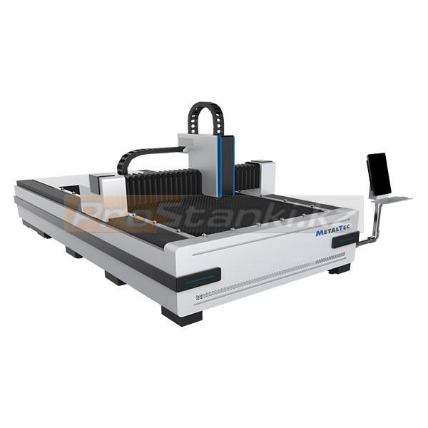 Фото: Оптоволоконный лазерный станок для резки металла MetalTec 1530 BL (MAX-1000 W)