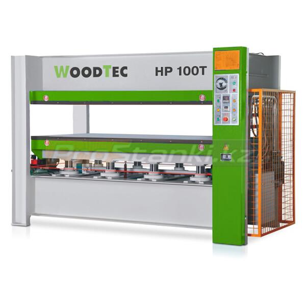 Фото: Пресс для горячего прессования WoodTec HP 100T