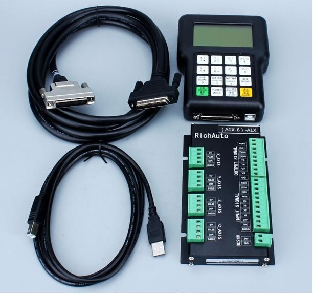 ПУЛЬТ УПРАВЛЕНИЯ (RICH AUTO A11) Удобный и эргономичный пульт управления, предназначен для управления станком в ручном режиме. Значительно облегчает работу оператора во время настройки станка, а также снижает риск повреждения оборудования в процессе обработки. Позволяет загружать программы обработки непосредственно с флэш-носителей не, используя специально установленный компьютер.