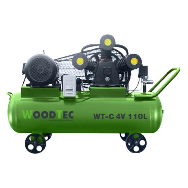 Фото: Поршневой компрессор WoodTec WT-C 4V 110L
