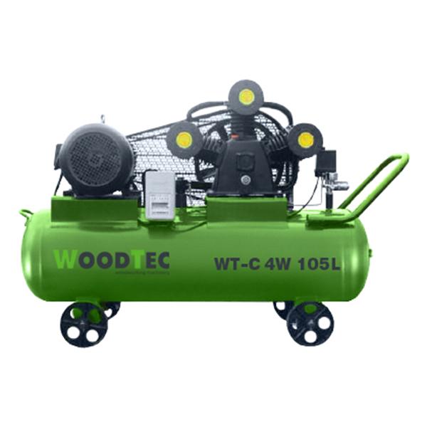 Фото: Поршневой компрессор WoodTec WT-C 4W 105L
