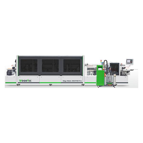 Фото: Станок для облицовывания кромок мебельных деталей WoodTec EdgeMatic 600-PUR PRO