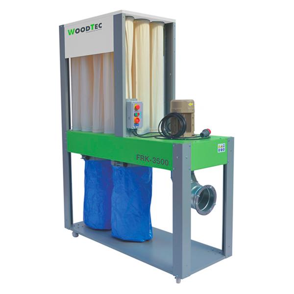 Фото: Пылеулавливающий агрегат WoodTec FRK-6500