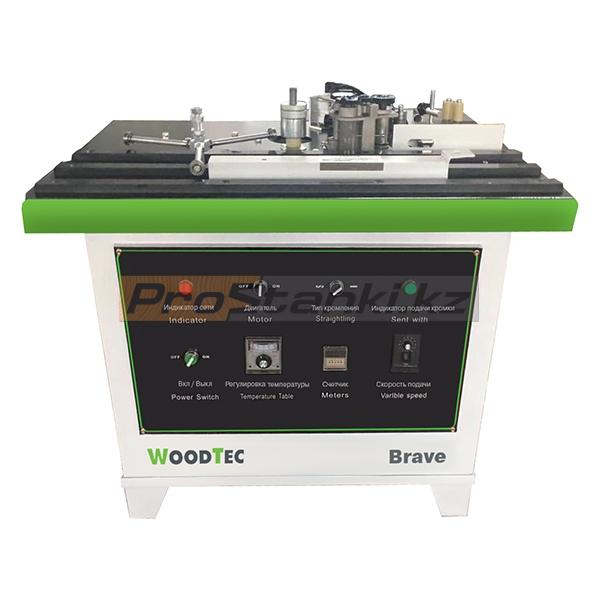 Фото: Кромкооблицовочный станок WoodTec Brave