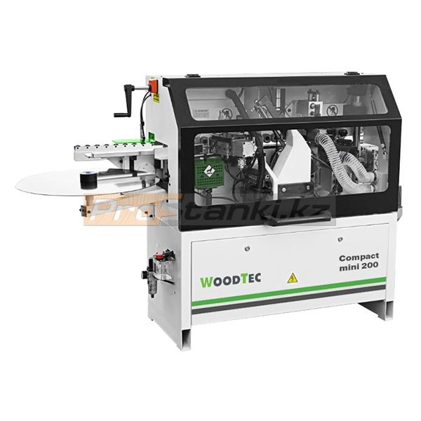 Фото: Кромкооблицовочный станок WoodTec Compact mini 200