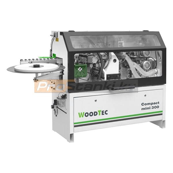 Фото: Кромкооблицовочный станок WoodTec Compact mini 300