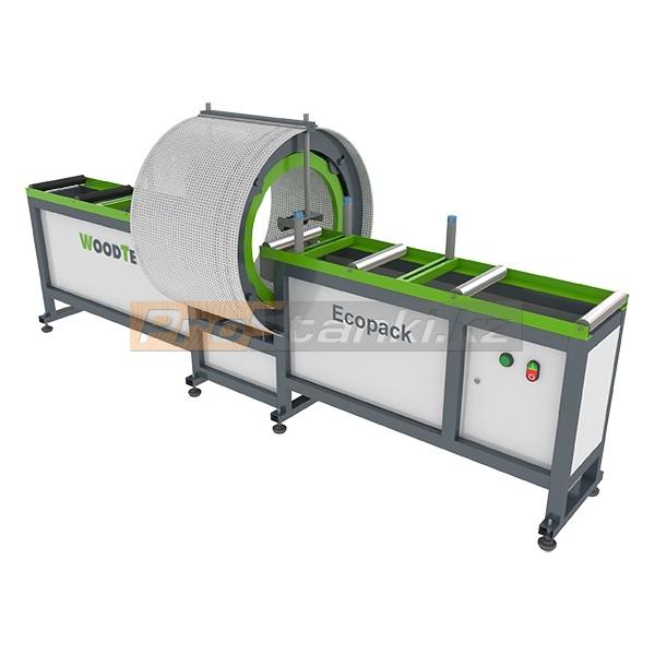 Фото: Станок для упаковки изделий стрейч пленкой WoodTec Ecopack 300