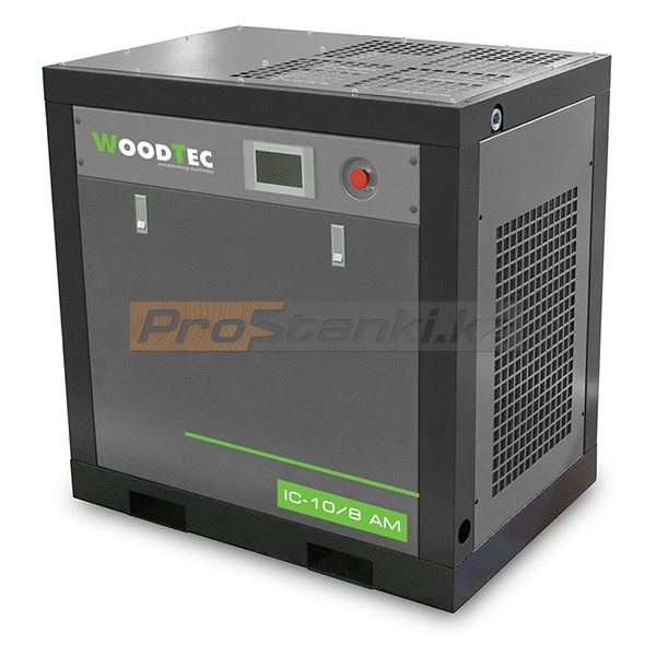Фото: Винтовой маслозаполненный компрессор WoodTec IC 10 AM