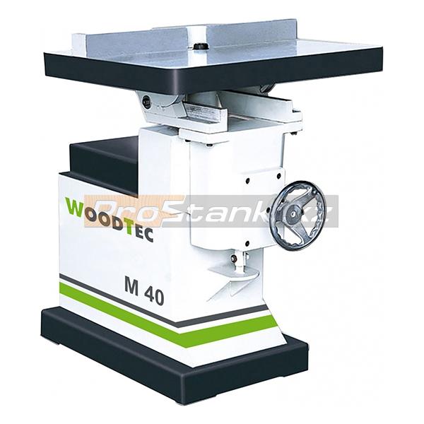 Фото: Станок фрезерный для концевого инструмента WoodTec M 40