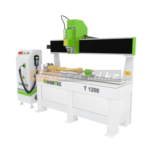 Фото: Токарно-фрезерный станок с ЧПУ WoodTec T 1200